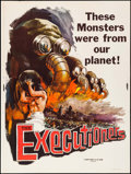 "Movie Posters:Documentary, The Executioners (Vitalite Films, 1959). Poster (30"" X 40""). Documentary.. ..."