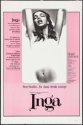 """Movie Posters:Sexploitation, Inga & Other Lot (Cinemation Industries, 1968). One Sheets (2)(27"""" X 41""""). Sexploitation.. ... (Total: 2 Items)"""