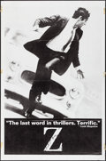 """Movie Posters:Foreign, Z (Cinema 5, 1969). One Sheet (27"""" X 41""""). Foreign.. ..."""