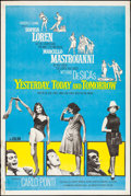 """Movie Posters:Foreign, Yesterday, Today and Tomorrow (Embassy, 1964). Poster (40"""" X 60""""). Foreign.. ..."""