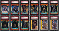 Basketball Cards:Lots, Signed 1986-87 Fleer Basketball Collection (28). ...