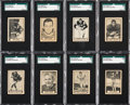 Football Cards:Sets, 1962 Topps C.F.L. Complete Set (169) Plus One Unperforated (1). ...