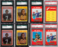 Football Cards:Sets, 1970-1972 O-Pee-Chee CFL Football Complete Sets (5) With Theismann Rookie. ...