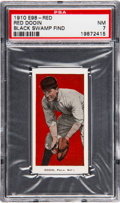 """Baseball Cards:Singles (Pre-1930), 1910 E98 """"Set of 30"""" Red Dooin (Red) PSA NM 7 - Black Swamp Find...."""
