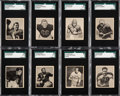 Football Cards:Sets, 1948 Bowman Football Complete Set (108). ...