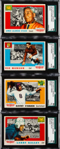 Football Cards:Lots, 1955 Topps All American Football Collection (67). ...
