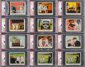 Non-Sport Cards:General, 1937 R41 Dick Tracy High Numbers (#'s 121-144) Collection (107)....