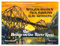 "The Bridge on the River Kwai (Columbia, 1958). British Quad (30"" X 40"")"