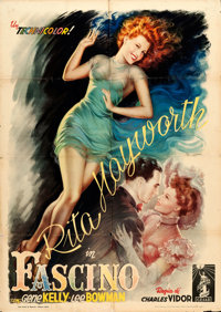 "Cover Girl (Columbia, 1948). First Post-War Release Italian 2 - Fogli (39"" X 55"") Anselmo Ballester Artwork..."