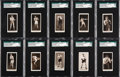 """Boxing Cards:General, Scarce 1938 Player & Sons - Drumhead """"Pugilists In Action""""Complete Set (50). ..."""