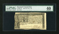 Colonial Notes:Maryland, Maryland April 10, 1774 $8 PMG Extremely Fine 40....