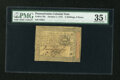 Colonial Notes:Pennsylvania, Pennsylvania October 1, 1773 2s/6d PMG Choice Very Fine 35 EPQ....