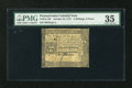Colonial Notes:Pennsylvania, Pennsylvania October 25, 1775 2s/6d PMG Choice Very Fine 35....