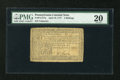 Colonial Notes:Pennsylvania, Pennsylvania April 10, 1777 4s PMG Very Fine 20....