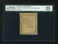 Colonial Notes:Delaware, Delaware January 1, 1776 2s/6d PMG Very Fine 25....