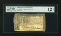 Colonial Notes:Maryland, Maryland March 1, 1770 $8 PMG Fine 12 Net....