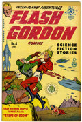Golden Age (1938-1955):Science Fiction, Flash Gordon #4 (Harvey, 1951) Condition: VF....