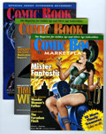 Magazines:Fanzine, Comic Book Marketplace Group (Gary Carter, 1995-98) Condition: Average VF.... (Total: 8 Comic Books)