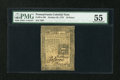 Colonial Notes:Pennsylvania, Pennsylvania October 25, 1775 18d PMG About Uncirculated 55....
