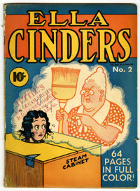 Single Series #21 Ella Cinders (#2) (United Features Syndicate, 1940) Condition: GD+