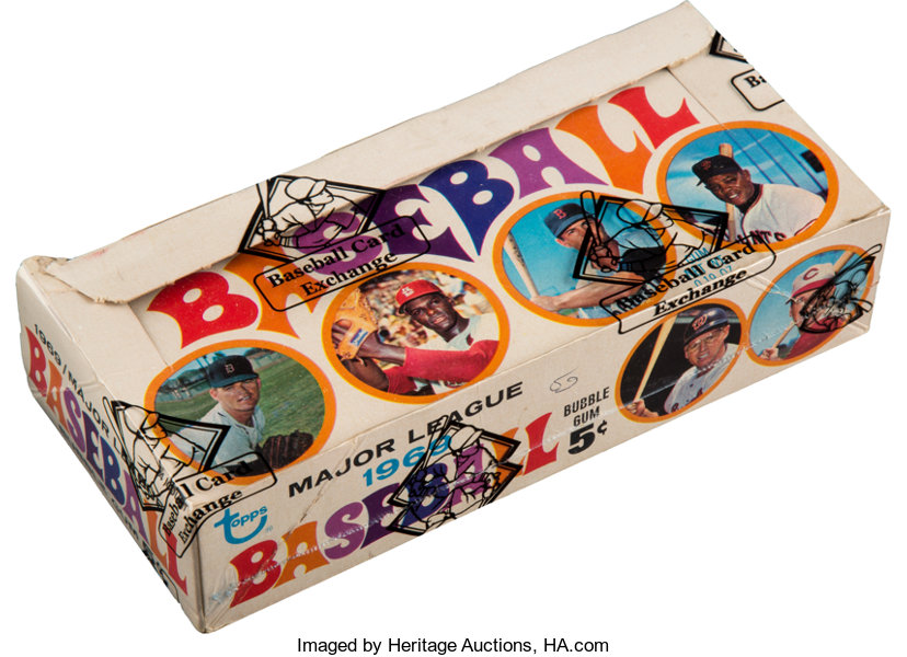 1969 Topps Baseball First Series Wax Box With 24 Unopened 5 Cent