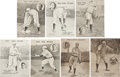 """Baseball Cards:Sets, 1909 """"Boston Sunday Post"""" Red Sox Stars Supplements Collection (7 Different). ..."""
