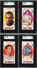 Baseball Cards:Sets, 1969 Topps Basketball Near Set (98/99) Plus Extras. . ...