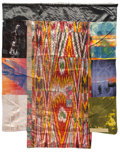 Prints & Multiples, Robert Rauschenberg (1925-2008). Samarkand Stitches III, from Samarkand Stitches series, 1988. Silkscreen and collag...