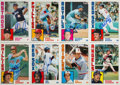 Autographs:Sports Cards, Signed 1984 Topps Baseball Super Near Set (29/30) Plus Two Extras....