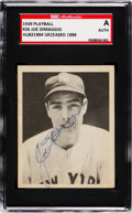 Autographs:Sports Cards, Signed 1939 Play Ball Joe DiMaggio #26 SGC Authentic. ...