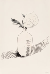 Andy Warhol (1928-1987) Untitled, from Flowers, 1974 Screenprint with handcoloring on J