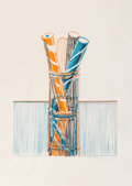 Prints & Multiples, Wayne Thiebaud (b. 1920). Glassed Candy, from Presidential Portfolio, 1980. Lithograph in colors on Rives BFK paper,...