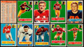 Football Cards:Lots, 1956 Topps Football Collection (184).. ...