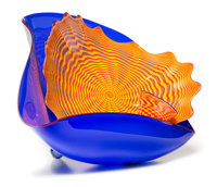 Dale Chihuly (American, b. 1941) Large Three-Piece Persian Group, 1988 Blown Glass 19-1/2 x 30 x