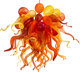 Dale Chihuly (American, b. 1941) Chandelier, 2005 Blown glass, steel 25 inches high x 41 inches diameter (63.5 x 104...