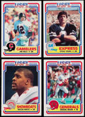 Football Cards:Sets, 1984 Topps USFL Football Complete Set (132). . ...