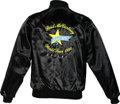Music Memorabilia:Costumes, Paul McCartney Radio Station Promo/World Tour Jacket-Dallas(1990)....