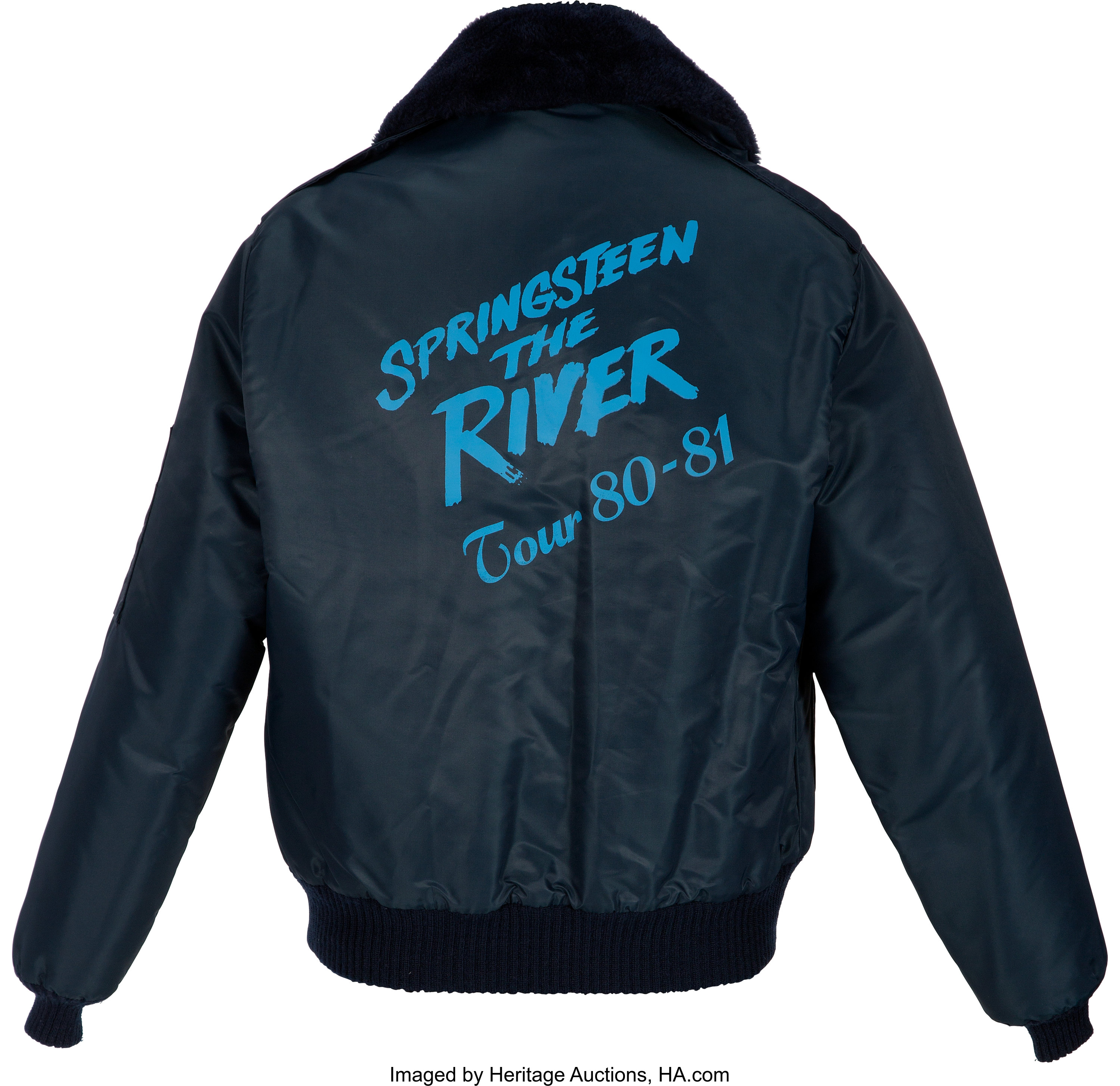 Bruce Springsteen The River Tour Jacket Circa 1980 1981 Music Lot 89625 Heritage Auctions