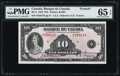 Canadian Currency, BC-8 $10 1935. ...