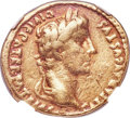 Ancients:Roman Imperial, Ancients: Augustus (27 BC-AD 14). AV aureus (21mm, 7.70 gm, 10h). NGC Fine 3/5 - 3/5....