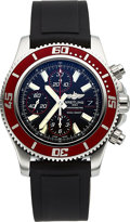 Timepieces:Wristwatch, Breitling, Ref. A1331X9, Superocean II Diver Chronograph, Ltd Ed.544/2000, Circa 2014. ...