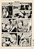 Original Comic Art:Panel Pages, Dick Ayers and Ernie Bache Tim Holt #33 Ghost Rider StoryPage 5 Original Art (Magazine Enterprises, 1952-53)....