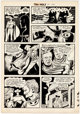 Dick Ayers and Ernie Bache Tim Holt #33 Ghost Rider Story Page 5 Original Art (Magazine Enterprises, 1952-53)