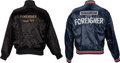 Music Memorabilia:Memorabilia, Foreigner Tour '77 Crew Jacket and Electric Factory Concerts Crew Jacket.... (Total: 2 )