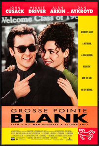 """Grosse Pointe Blank & Other Lot (Buena Vista, 1997). One Sheets (2) (27"""" X 40"""", 41"""") DS. Comedy..."""