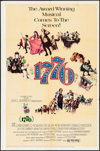 """1776 & Others Lot (Columbia, 1972). One Sheets (2) (27"""" X 41"""") & Mini Lobby Card Set of 8 (8"""" X 1..."""