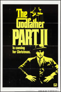 "Movie Posters:Crime, The Godfather Part II (Paramount, 1974). One Sheet (27"" X 41"")Advance. Crime.. ..."