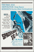 "Movie Posters:Science Fiction, Spaceflight IC-1 (20th Century Fox, 1965). Folded, Very Fine+. OneSheet (27"" X 41""). Science Fiction.. ..."
