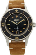 Timepieces:Wristwatch, Blancpain, Fifty Fathoms, Milspec Case #2646, Circa 1960's. ...