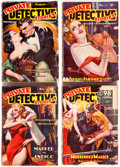 Pulps:Detective, Private Detective Stories Group of 21 (Trojan Publishing, 1937-42) Condition: Average GD.... (Total: 21 Items)